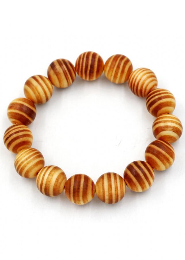 Vòng tay chuỗi hạt gỗ Huyết rồng 15 ly 16 hạt
