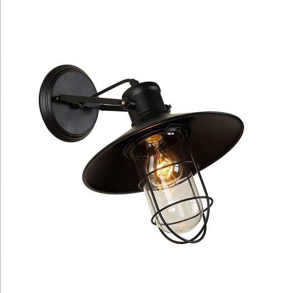 Đèn gắn tường - đèn trang trí quán cafe - đèn trang trí nội thất cổ điển kiểu bão VINTAG