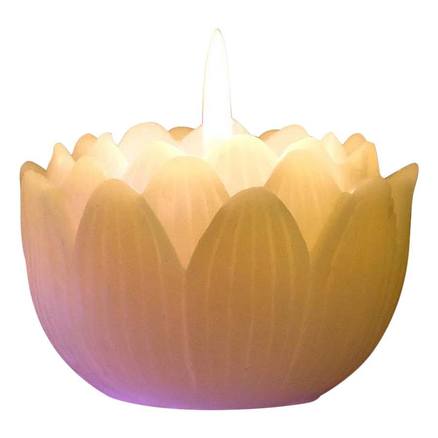 Nến Thơm Hoa Sen Đổi Màu Đèn LED Miss Candle NQM9907.LED