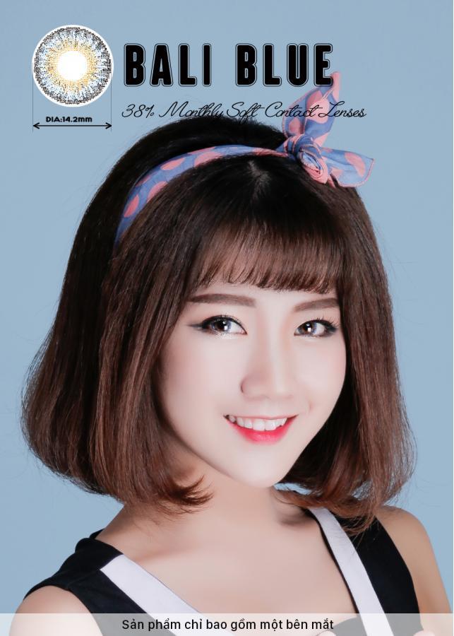 [Một miếng] Kính Áp Tròng Dùng 1 Tháng Eye Secret KM1T - Bali Blue