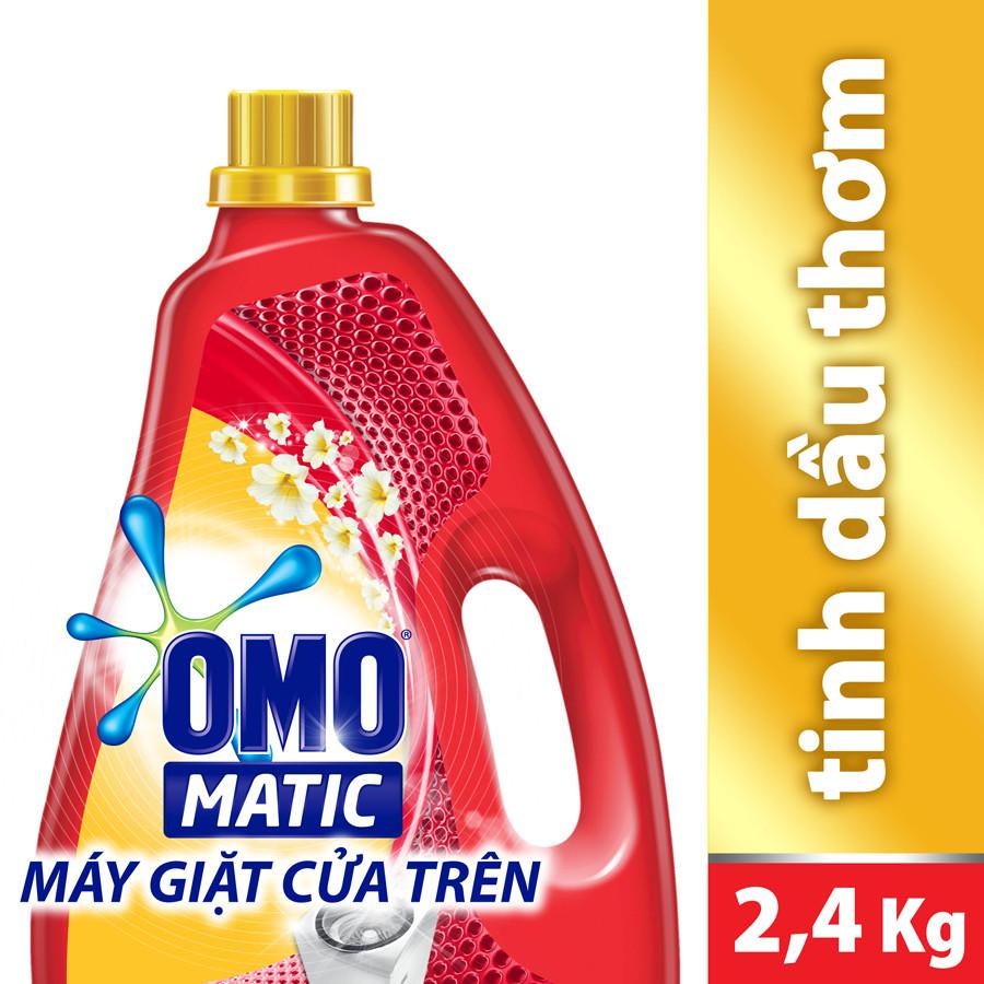 Nước Giặt  OMO Comfort Tinh Dầu Thơm 21122478 (2.4kg)