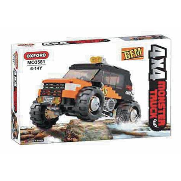 Đồ Chơi Lắp Ráp Oxford - Monster Truck 46 MO3581 (259 Mảnh Ghép)