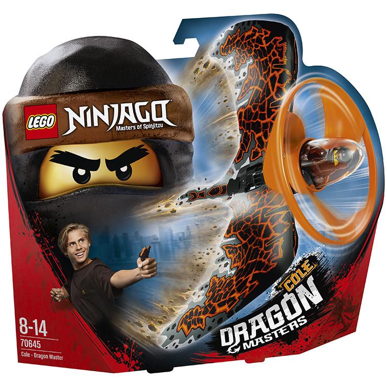 Đồ chơi xếp hình Lego Ninjago 70645 Lốc Xoáy Rồng Của Cole
