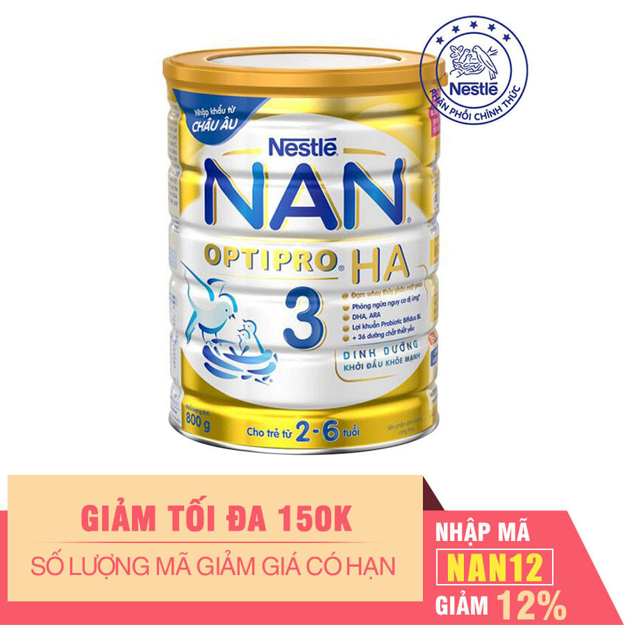 Sữa Bột Nestle NAN Optipro HA 3 (800g)