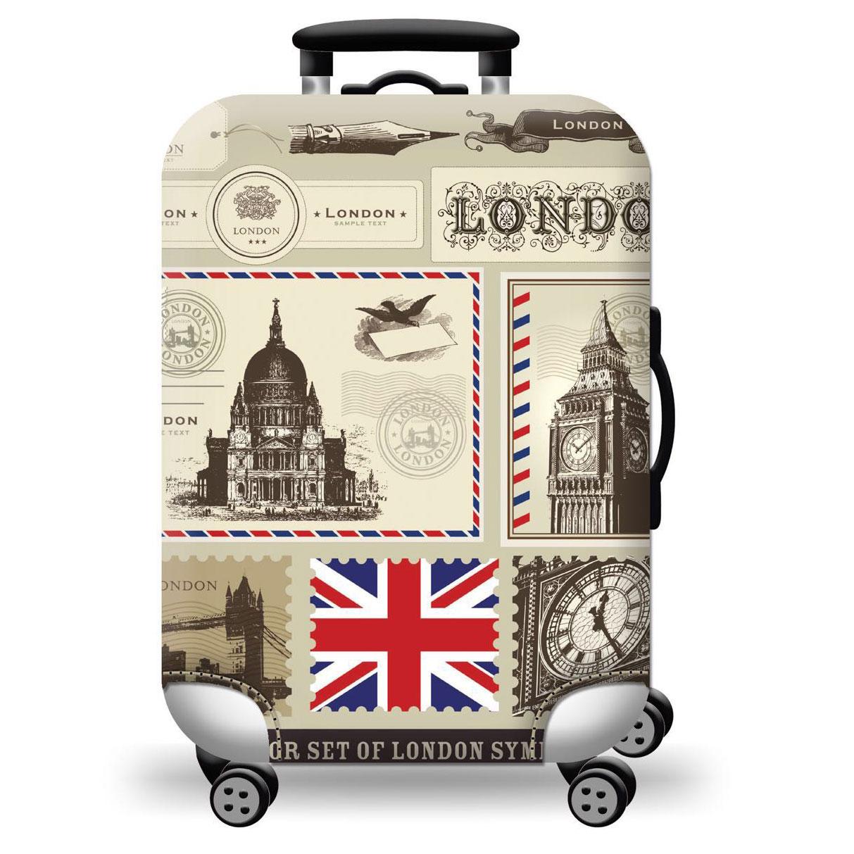 Túi bọc bảo vệ vali -Áo vỏ bọc vali - LonDon