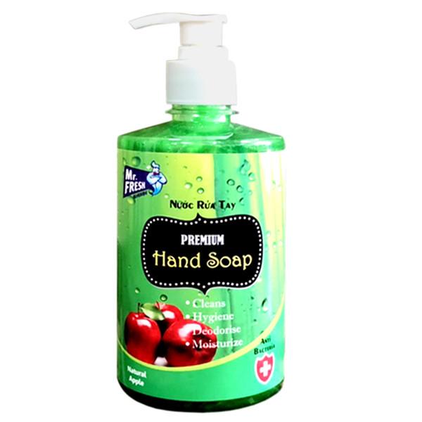 Nước rửa tay Premium Mr Fresh Hàn Quốc 500ml Hương Táo Mỹ