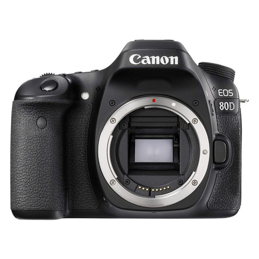 Máy Ảnh Canon EOS 80D Body - Hàng Chính Hãng (Tặng Thẻ 16GB + Túi Máy + Tấm Dán LCD)