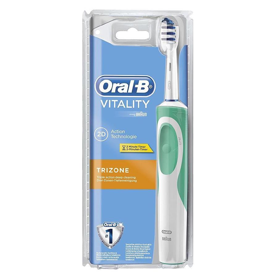 Bàn Chải Đánh Răng Điện Oral-B Vitality Trizone D12.513
