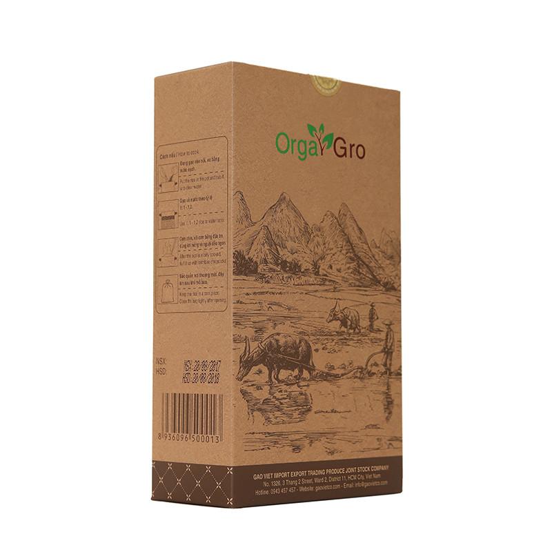 Gạo hữu cơ OrgaGro Ngọc An 2kg ( organic )