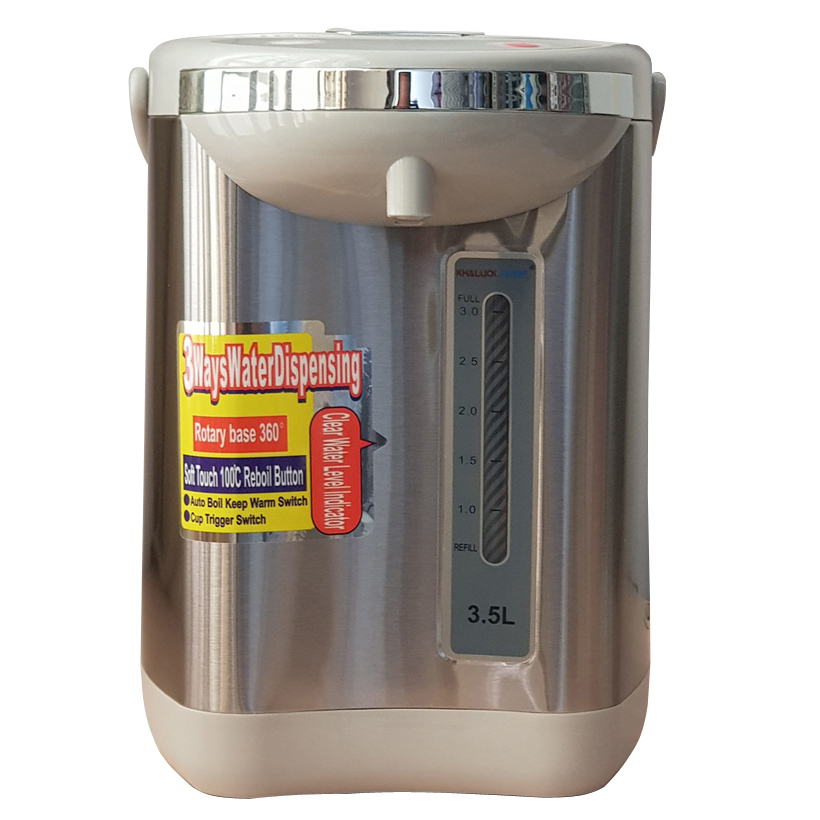Bình thủy điện 3.5 lít có chức năng giữ ấm Khaluck.Home KL-935